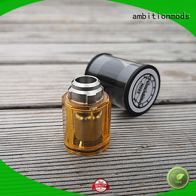 ambitionmods RTA vape tank supplier for electronic cigarette