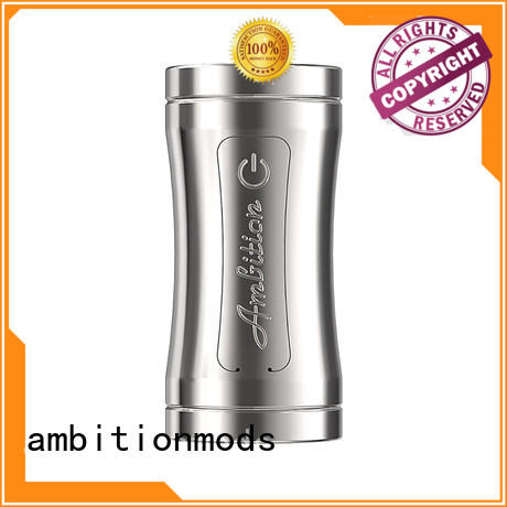 ambitionmods approved Luxem Tube Mod with Mosfet factory price for mall