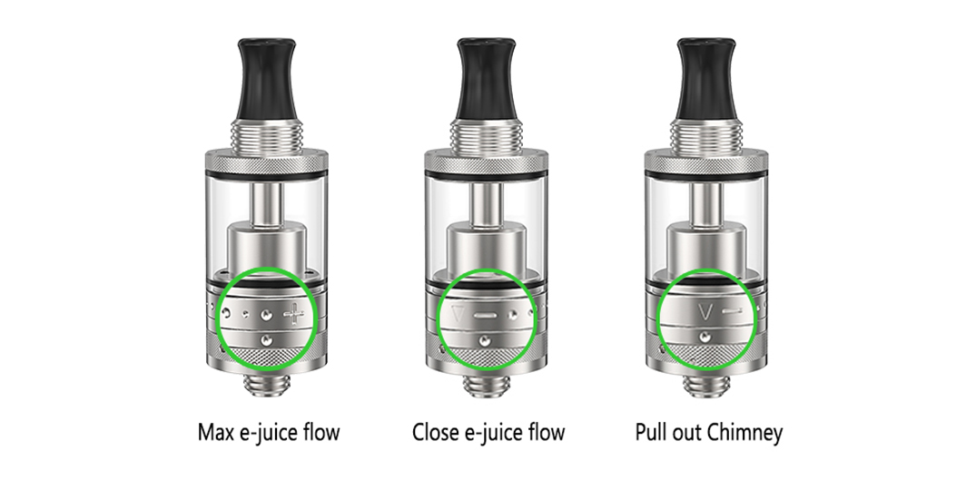 ejuice RTA rebuildable tank atomizer factory price for shop-6