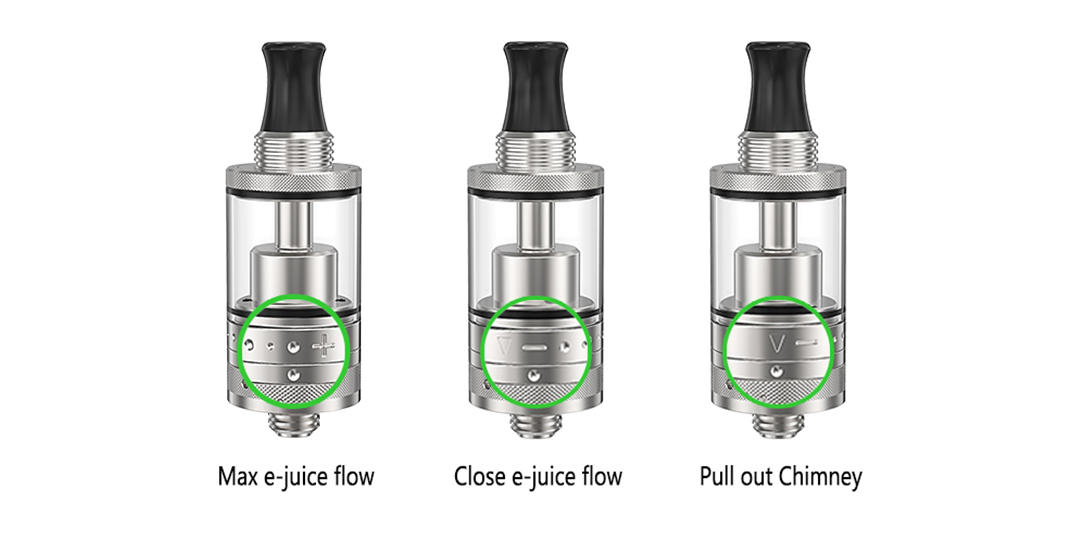 excellent Purity MTL RTA personalized for home