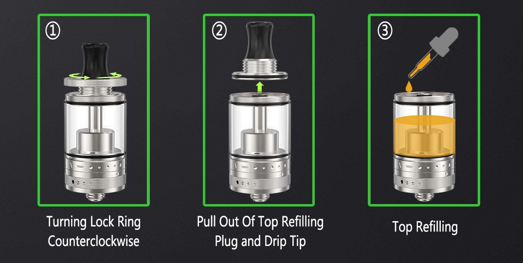 ambitionmods reliable rta tank factory price for shop-7