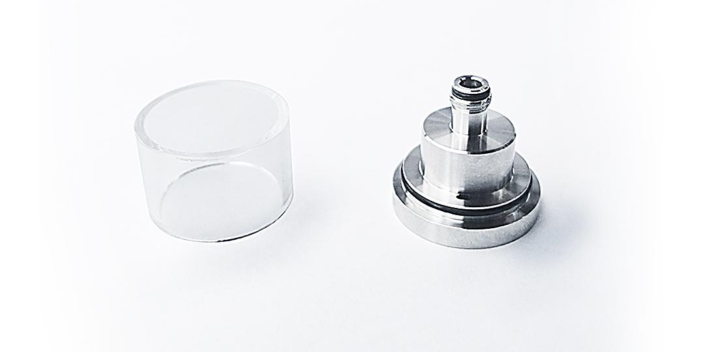 ambitionmods quality short vape glass tank design for sale-1