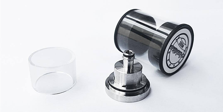 ambitionmods quality short vape glass tank design for sale-2