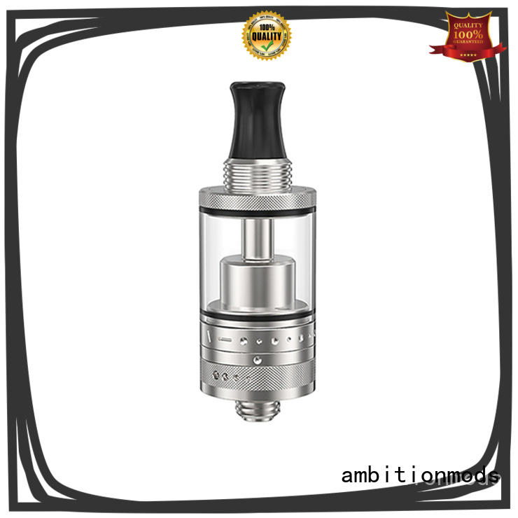 ambitionmods top quality RTA rebuildable tank atomizer factory price for store