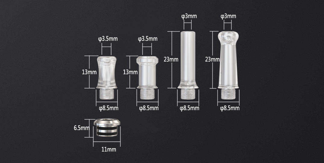 polymer best drip tips factory for mall-3