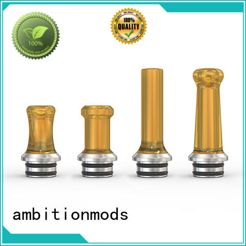 ambitionmods approved best drip tip factory for retail