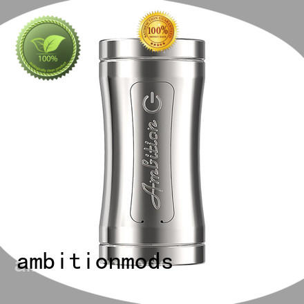 ambitionmods Luxem Tube Mod with Mosfet factory price for supermarket