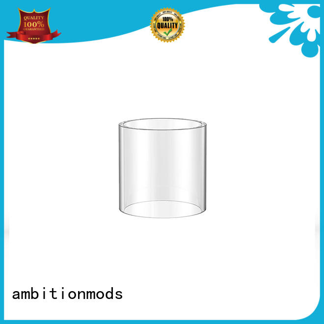 ambitionmods sturdy 3.5ml vape glass tube at discount for store