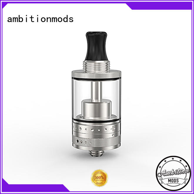 ambitionmods quality rta tank factory price for store