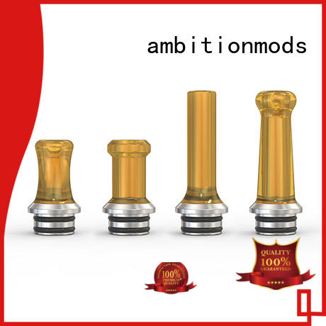 ambitionmods polymer best drip tips inquire now for supermarket