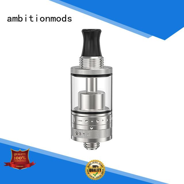 ambitionmods flow control MTL RTA vape for shop