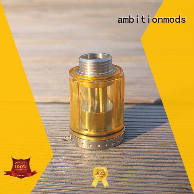 ambitionmods PCTG vaping tank directly sale for adults