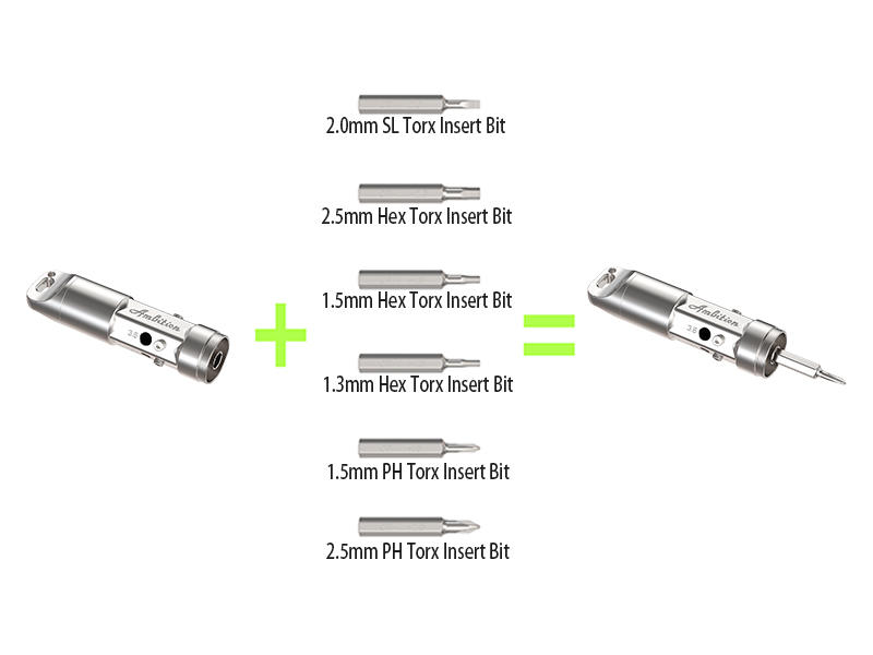 Polymer V2 Ambition vape tool 86 mm high with coil jig & screw driver 2 in 1 new arrival-2