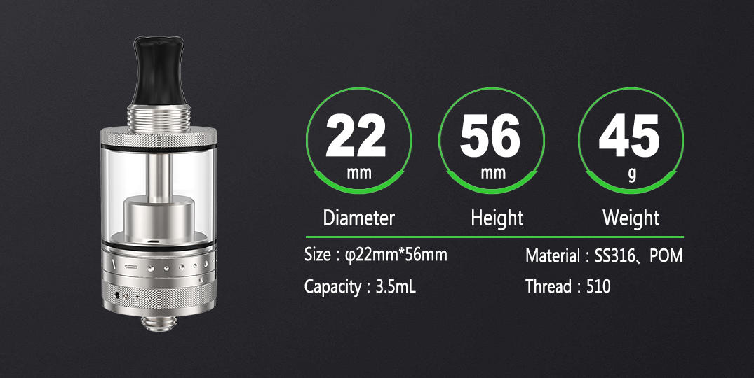 ambitionmods reliable rta tank factory price for shop-3