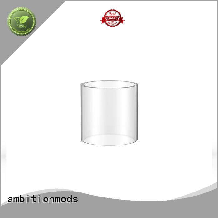 ambitionmods RTA glass tube personalized for sale