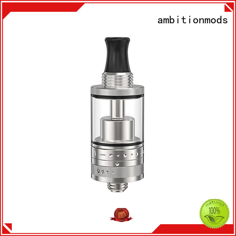 ambitionmods adjustable RTA rebuildable tank atomizer personalized for store