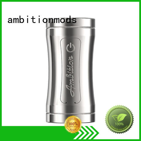 ambitionmods elegant Luxem Tube Mod with Mosfet personalized for adult