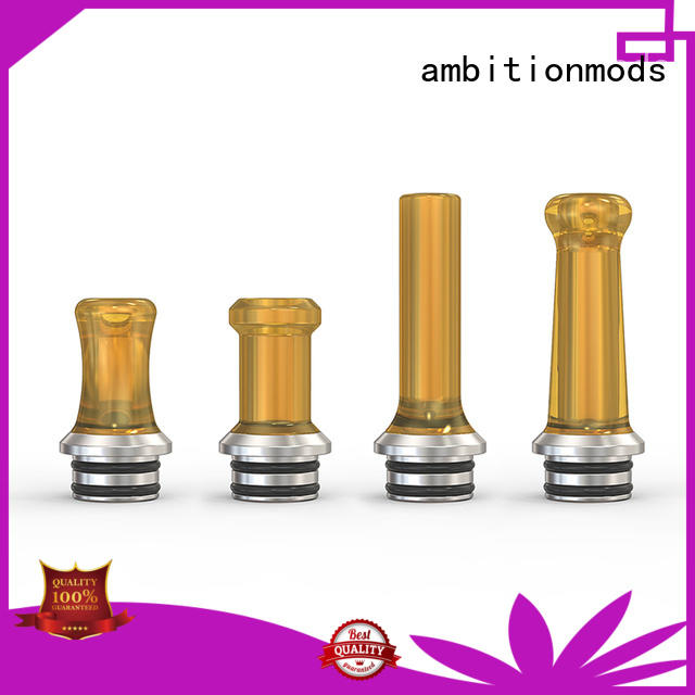 ambitionmods approved best drip tips factory for mall