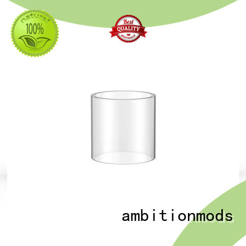 ambitionmods quality vape glass tube factory price for store