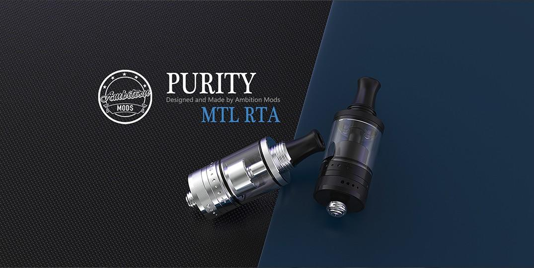 ambitionmods innovative Purity MTL RTA supplier for home-1