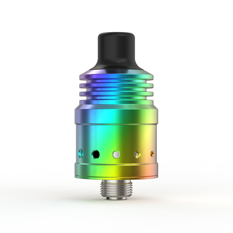 Spiral MTL RDA Ambition 18 mm diameter with 5 Air holes control Anti-condensate structure-4