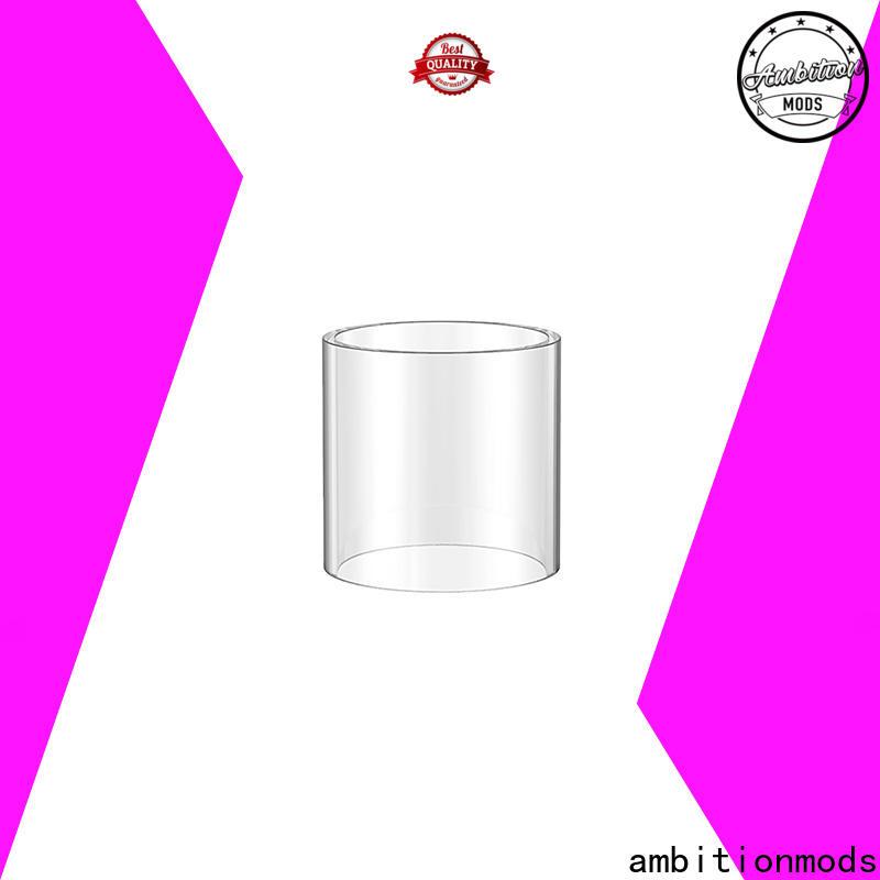 professional RTA spare glass design for electronic cigarette