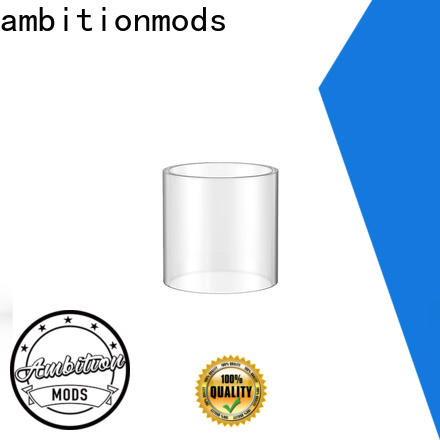 ambitionmods quality vape glass tube wholesale for sale