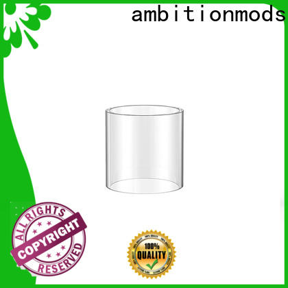 ambitionmods 3.5ml vape glass tank factory for commercial