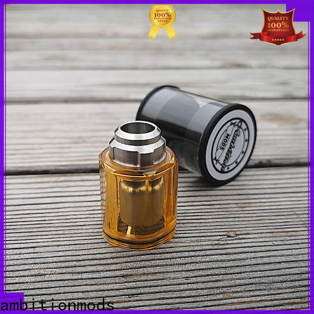 ambitionmods long lasting MTL tank supplier for electronic cigarette