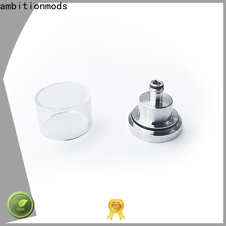 ambitionmods stable short vape glass tank design for store