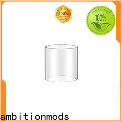 ambitionmods 3.5ml vape glass tube with good price for replacement