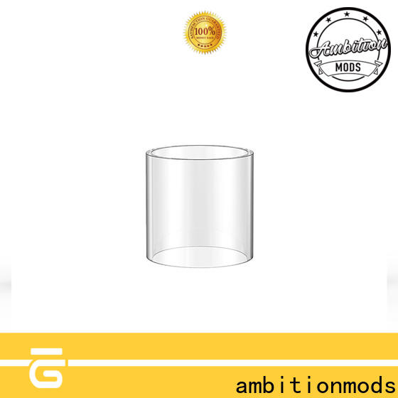 ambitionmods stable 3.5ml vape glass tank factory for sale