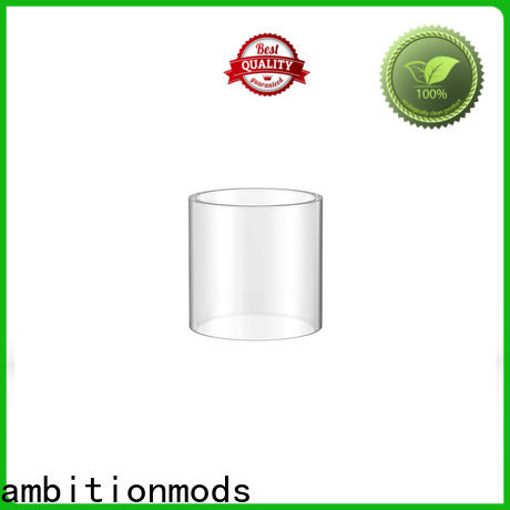 ambitionmods vape glass tube supplier for sale