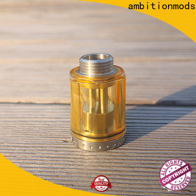 ambitionmods PCTG vape tank manufacturer for adults