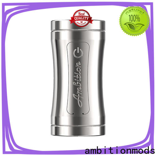ambitionmods elegant Luxem Tube Mod with Mosfet supplier for supermarket