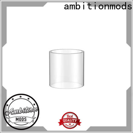 ambition mod vape glass tube wholesale for store