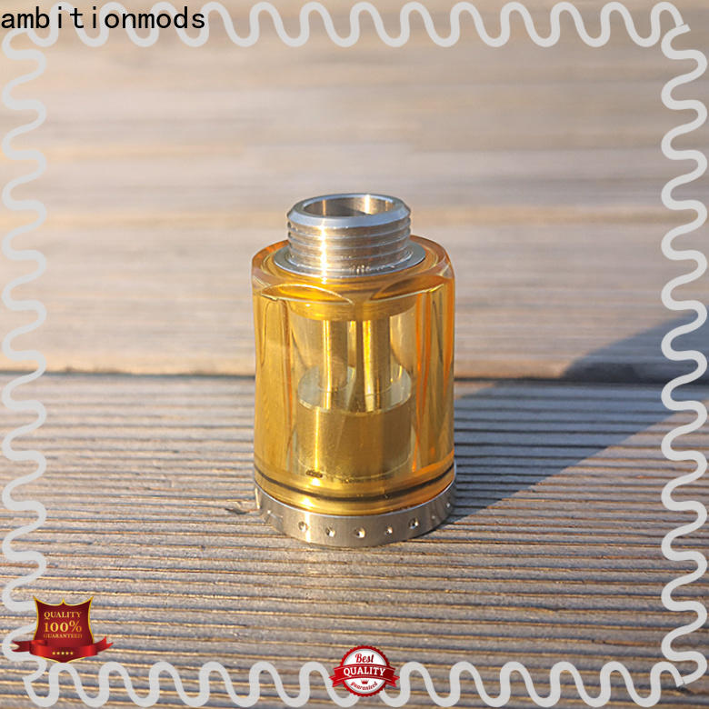 ambitionmods PCTG tank from China for vapor
