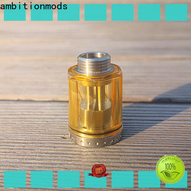 ambitionmods PCTG vaping tank from China for e-cigarette