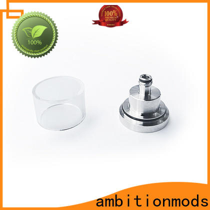 ambitionmods stable short vape glass tank with good price for store