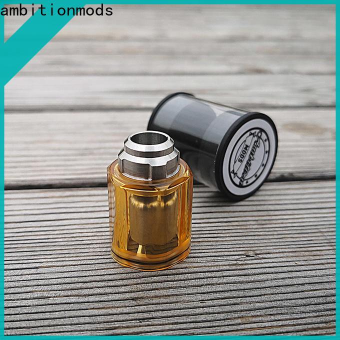 ambitionmods controllable MTL tank supplier for e-cigarette