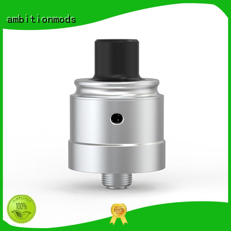 ambitionmods reliable RDA dripper customized for home