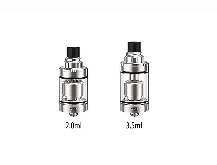 Ambition 2.0 ml &3.5 ml tank with top refilling and adjust e-juice flow 22 mm airflow control Gate MTL RTA-2