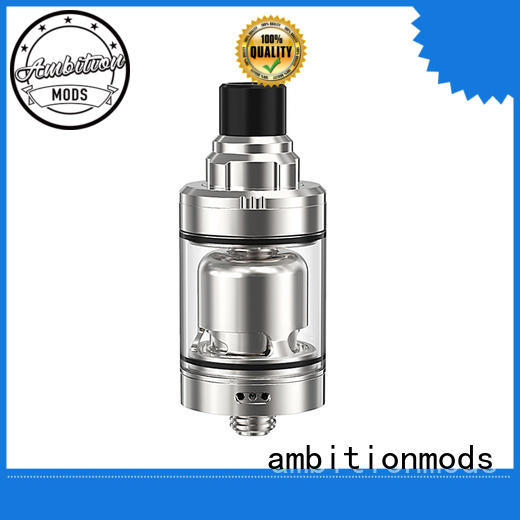Ambition 2.0 ml &3.5 ml tank with top refilling and adjust e-juice flow 22 mm airflow control Gate MTL RTA